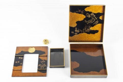 Art Déco - Suzuri bako (écritoire) par Moriya Shotei (1890-1972)