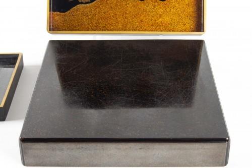Antiquités - Suzuri bako (écritoire) par Moriya Shotei (1890-1972)
