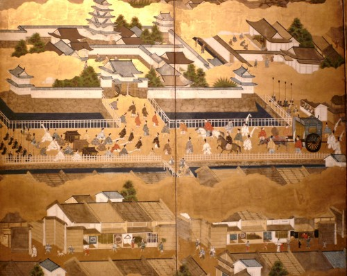 Asian Art & Antiques  - Scenes in and out of the Capital Kyoto - Rakuchu Rakugaï Zu