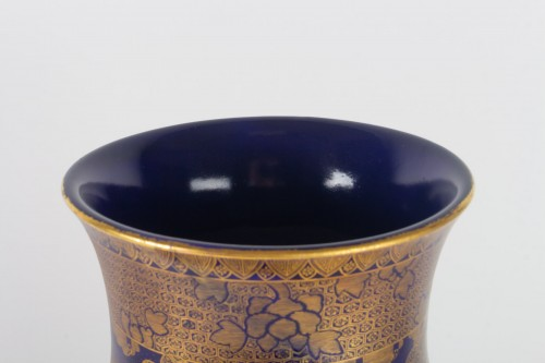 A Large and rare Satsuma Vase - Kinkozan - Asian Art & Antiques Style