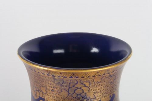 Antiquités - A Large and rare Satsuma Vase - Kinkozan