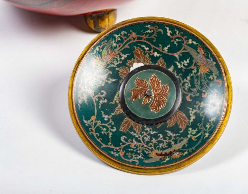 - Important Ball Shape Dragons Vase