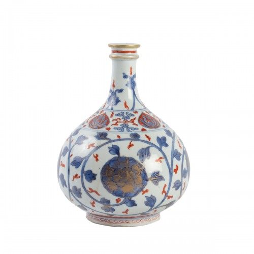 "Japanese Vase ""Apothecary Bottle"" in Porcelain Arita 18th century"