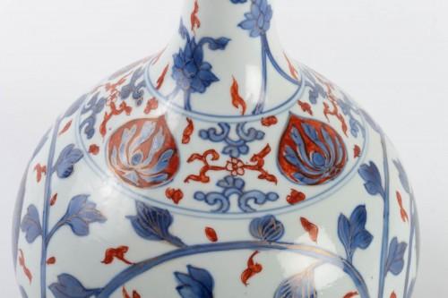 "18th century - Japanese Vase ""Apothecary Bottle"" in Porcelain Arita 18th century"