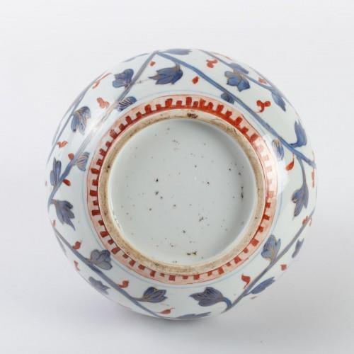 "- Japanese Vase ""Apothecary Bottle"" in Porcelain Arita 18th century"