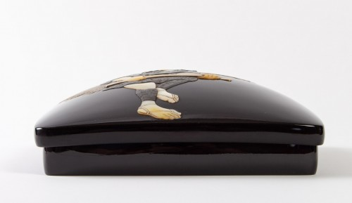 Japanese Lacquered Writing Box - Suzuri Bako - Asian Art & Antiques Style