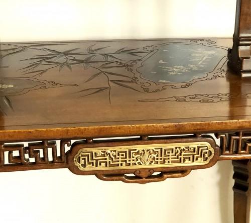 Furniture  - Tea table -  Gabriel Viardot (1830-1906)