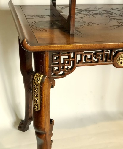 Antiquités - Tea table -  Gabriel Viardot (1830-1906)