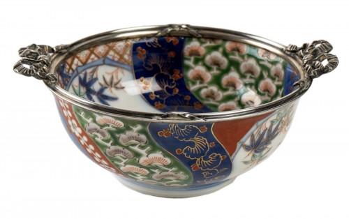 Japanese Porcelain Bowl - Fukagawa Kilns