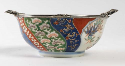 Japanese Porcelain Bowl - Fukagawa Kilns - Asian Works of Art Style