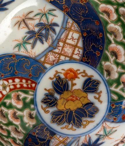 Japanese Porcelain Bowl - Fukagawa Kilns -