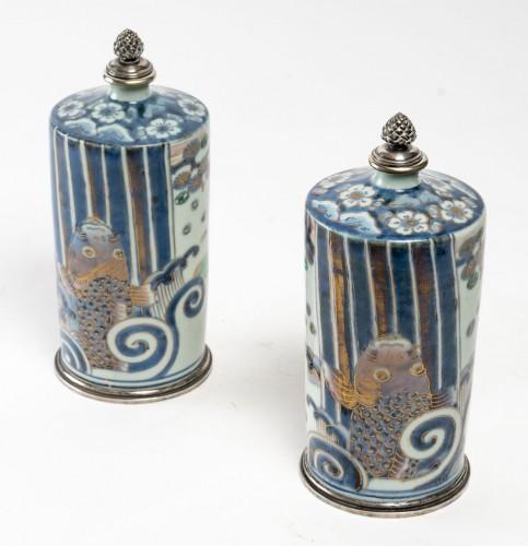 Pair of Tokkuri (sake flask) - Asian Works of Art Style