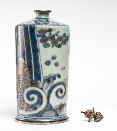 Asian Works of Art  - Pair of Tokkuri (sake flask)