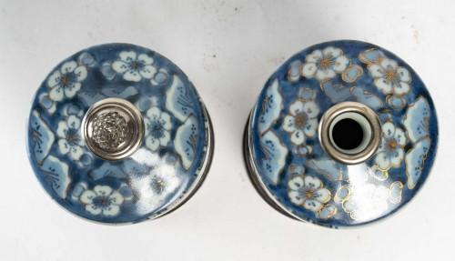 Pair of Tokkuri (sake flask) -