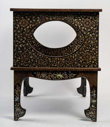 Ryukyu Islands 2-Tray Coffee Table - Asian Works of Art Style