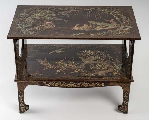 Asian Works of Art  - Ryukyu Islands 2-Tray Coffee Table