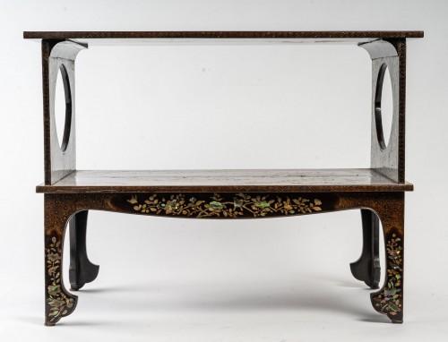 18th century - Ryukyu Islands 2-Tray Coffee Table