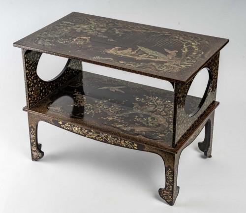 Antiquités - Ryukyu Islands 2-Tray Coffee Table