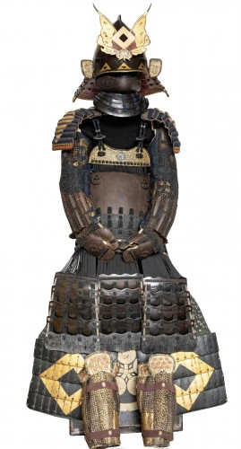 Roku-Do-Gussoku Japanese Armour Signed Munetaka Myochi 18th century