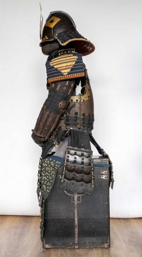- Roku-Do-Gussoku Japanese Armour Signed Munetaka Myochi 18th century