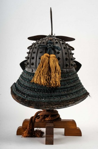 Japanese Samouraï Iron Helmet Hoshi Bachi Style 18th Century - Asian Works of Art Style