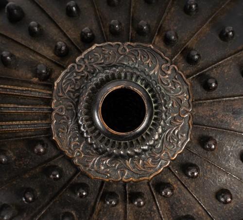 - Japanese Samouraï Iron Helmet Hoshi Bachi Style 18th Century