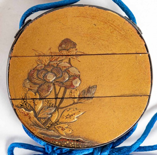 Asian Works of Art  - 2-case of Round Shape Inro 18th century