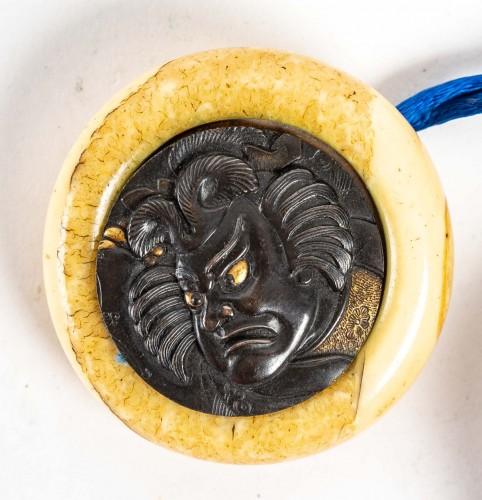 - 2-case of Round Shape Inro 18th century