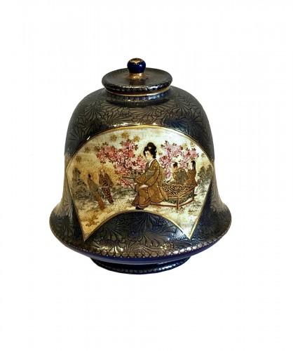 Bell Shaped Satsuma by Kinkozan