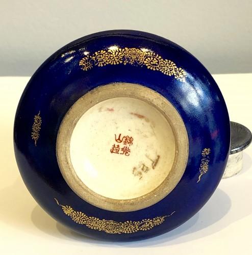 19th century - Bell Shaped Satsuma by Kinkozan