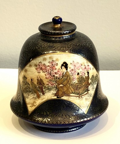 - Bell Shaped Satsuma by Kinkozan