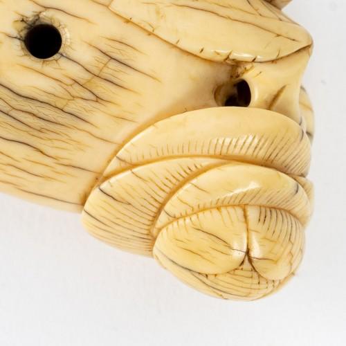 """18th century - Chinese Toggle """"Bouddha's Hand"""""""