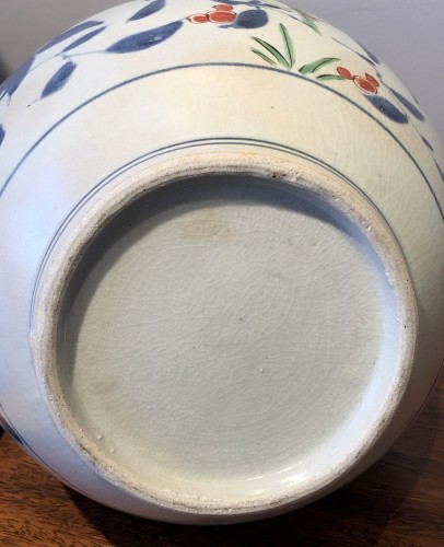 "Japanese Kakiemon Vase called ""Apothecary Bottle"" Edo 17th Century -"