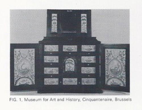 Louis XIV - AN ANTWERP COLLECTOR'S CABINET