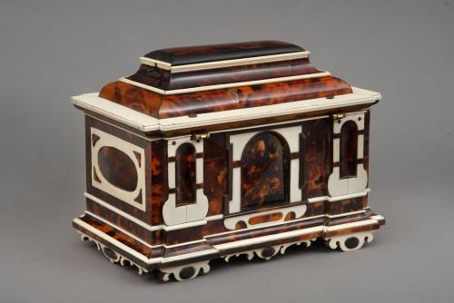 A rare  Augsburg Jewelry casket  -