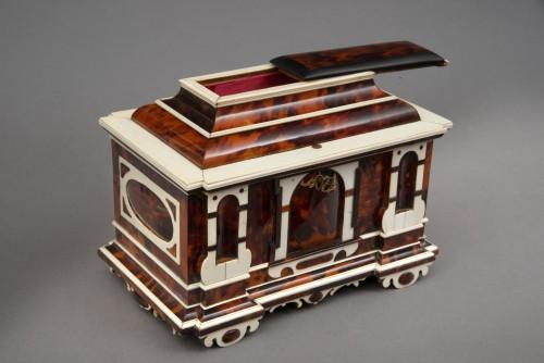 17th century - A rare  Augsburg Jewelry casket