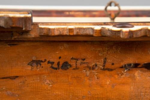 A rare  Augsburg Jewelry casket  - Louis XIV