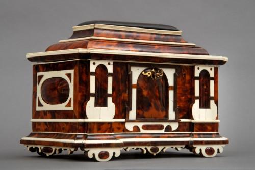 Antiquités - A rare  Augsburg Jewelry casket
