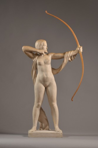 Cecil HOWARD (1888-1956) -  Archery (1926-1928) - Sculpture Style