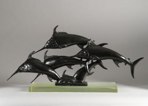 Swordfish (1935) - W.A Love Grove - Sculpture Style