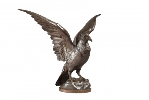 The carrier pigeon (small size) - Frédéric-Auguste BARTHOLDI (1834-1904)