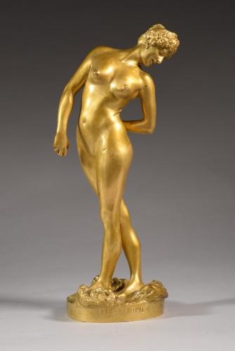 The bowls player (1902) - Jean-Léon GÉRÔME (1824-1904) - Sculpture Style