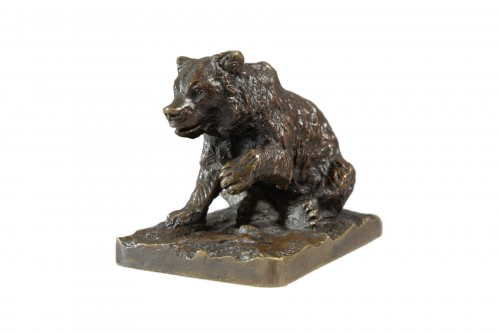 Little sitting bear (before 1849) - Christophe FRATIN (1801-1864)