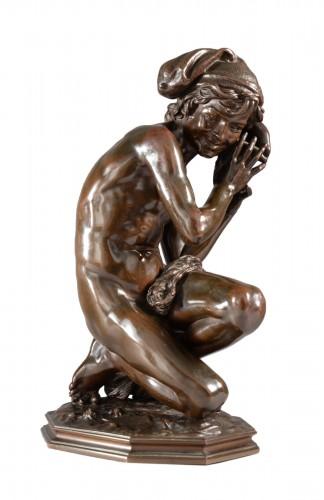 Fisherman with a shell n°3 (1857) - Jean-Baptiste CARPEAUX (1827-1875)