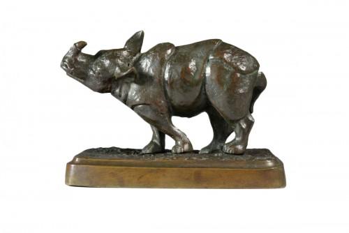Indian Rhinoceros (1928) - Antonio AMORGASTI (1880-1942)