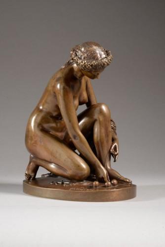 Toilet of atalante - James PRADIER (1790-1852) - Sculpture Style