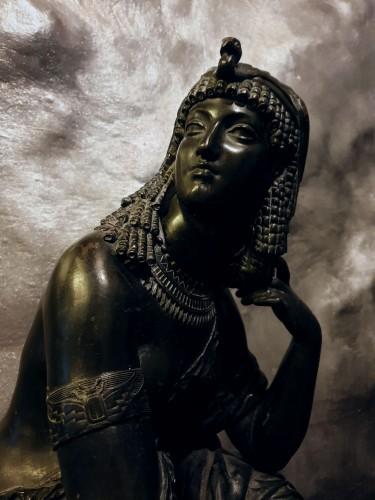 Sculpture  - Large Bronze Statue Of Cleopatra , Attr. Mathurin Moreau (1822 - 1912)