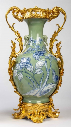 Pair of Chinese porcelain vases - Napoléon III