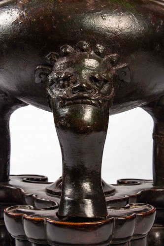 Bronze covered censer, Wanli period (1572-1620) - Asian Works of Art Style