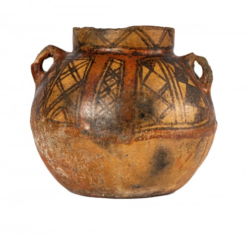 Pre-Columbian terracotta jar, Aconcagua culture
